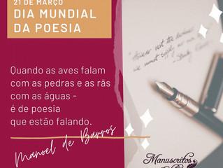 Dia Mundial da Poesia - 21 de março
