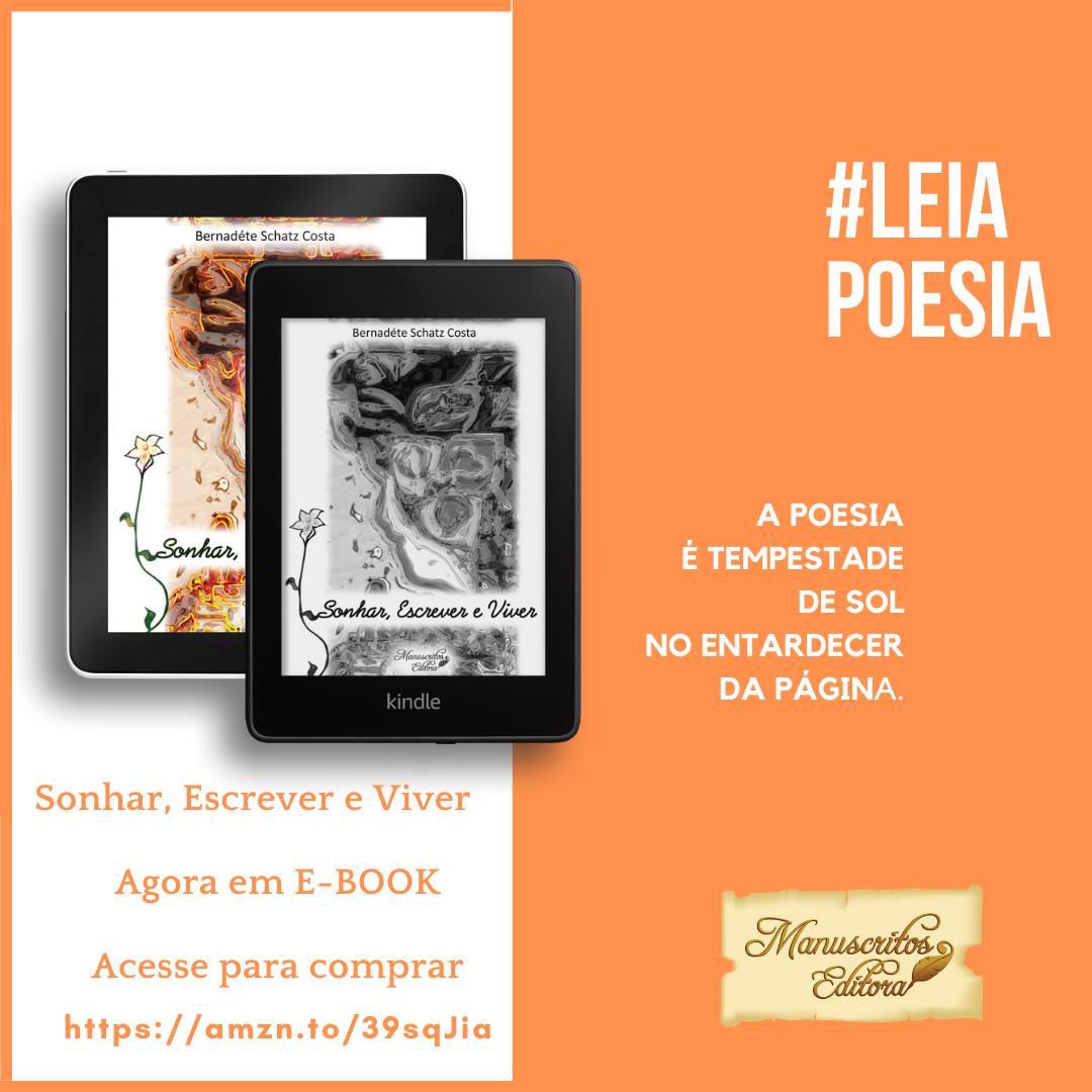E-book livro Sonhar, Escrever e Viver