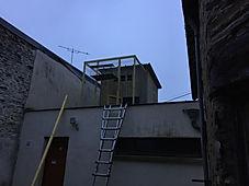 Dépigeonnage dans l'ouest de la france, creation de pigeonnier de capture