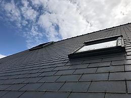 Nettouyage Demoussage de toiture fibro ciment secteur rennes ille et vilaine