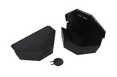 5 postes sécurisés pour petits rongeurs (PVC - Fermeture à clef)