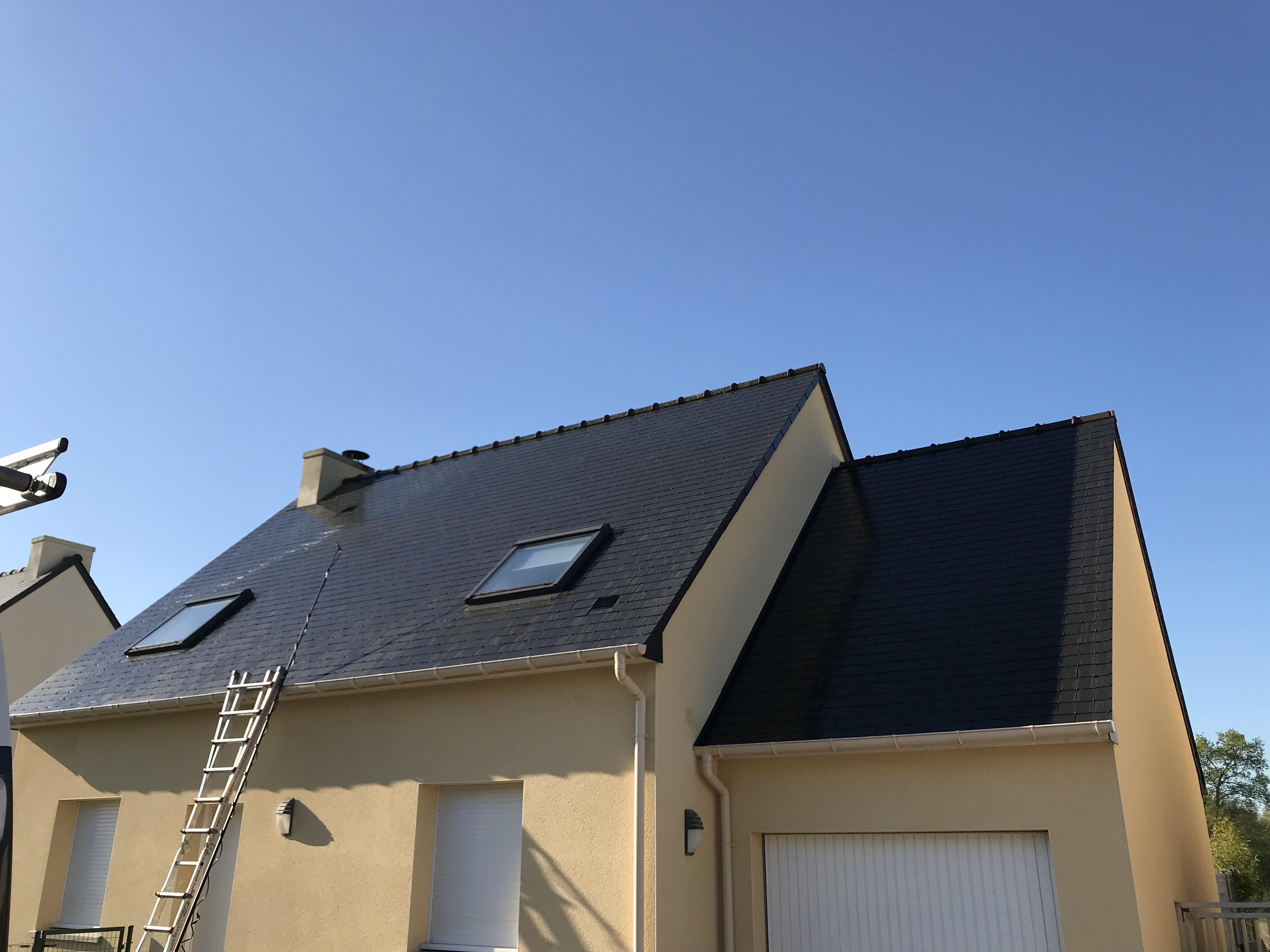 societe de demoussage de toitures