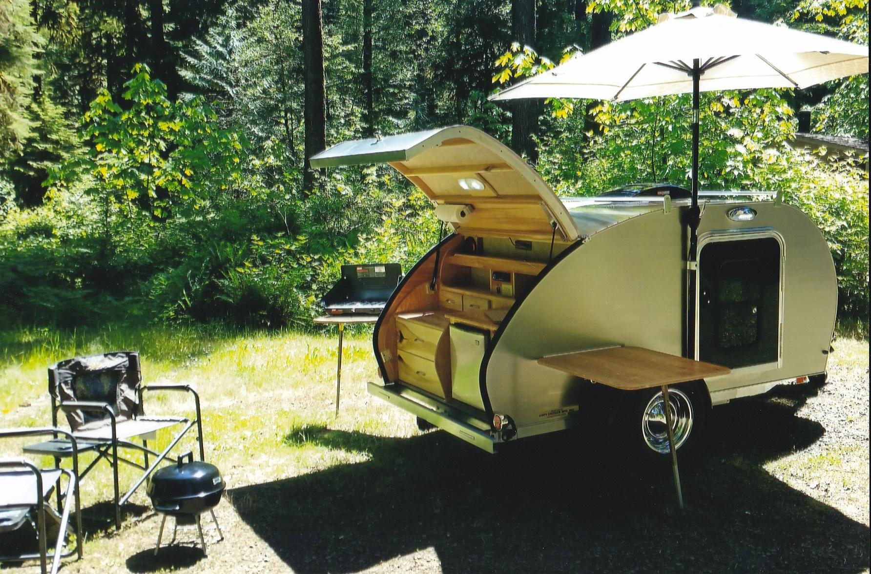 Cozy Cruiser- Custom Built, Lightweight, Teardrop Trailers