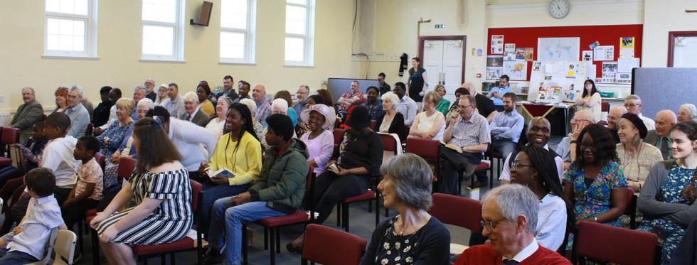 congregation smiles welcomepage website.