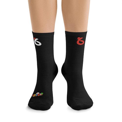 6 god socks