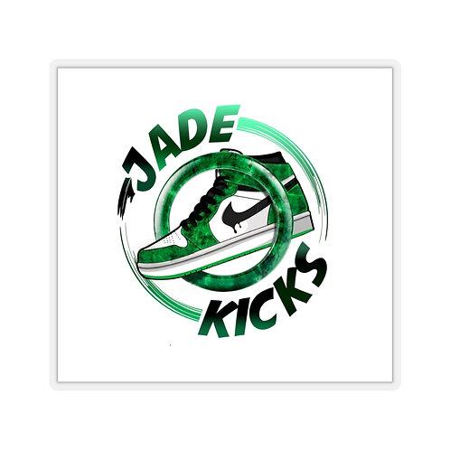 Jade Kicks Logo Sticker