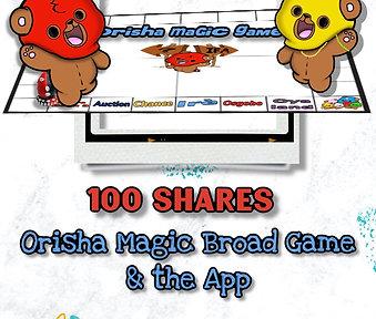 100 Shares for OM Board Game & Game App
