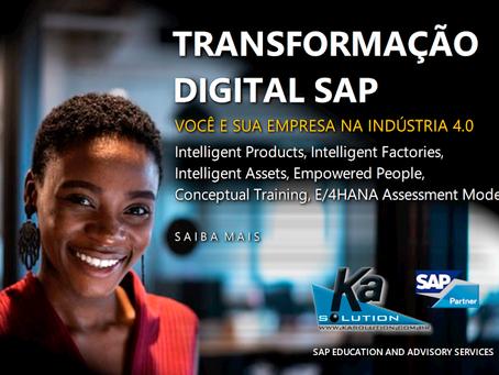 E/4HANA Educação para Transformação Digital SAP