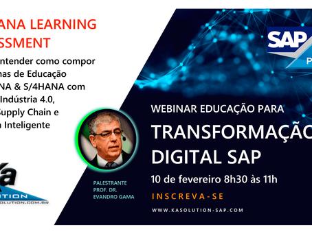 Webinar Educação para Transformação Digital SAP - 10/02 8h30-11h