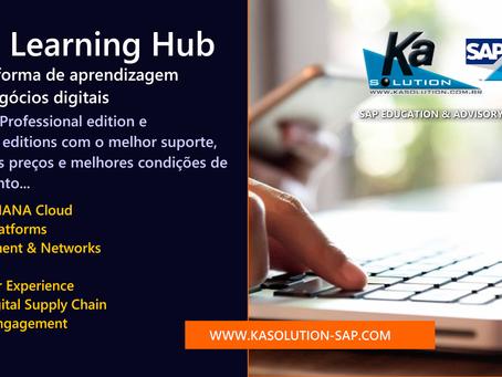 SAP Learning Hub para HANA-S/4HANA - Capacite sua equipe com soluções de aprendizagem digital 24x7