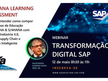 Webinar Transformação Digital SAP - Two-tier ERP 12/05 8h30-11h
