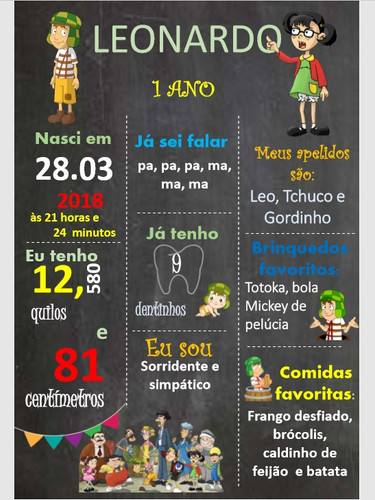 Chalkboard Chaves