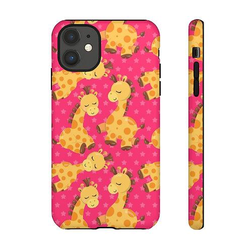 Bab Giraffe Pinkish Designer Tough Case