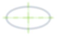 楕円の中心線