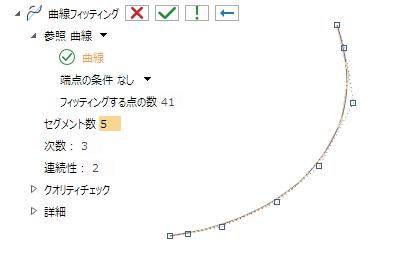 曲線フィッティング