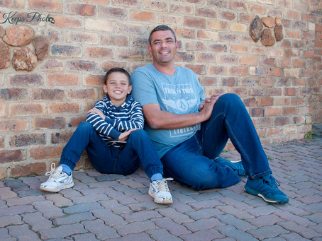 Father & Son Photo-Shoot