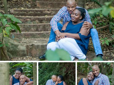 Beautiful Engagement Photo-Session @ Pretoria Botanical Gardens