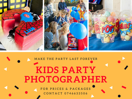NEW!! Kids Parties & Events