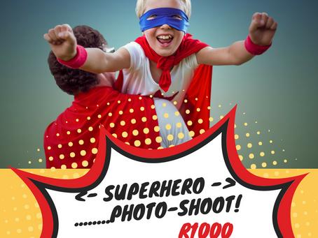 SUPERHERO Family Photo-shoot special!