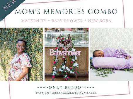 JUST IN!! Mommy Memories Package
