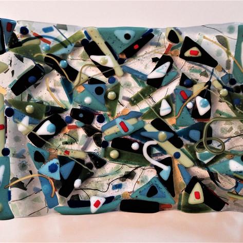 Blue Green Platter