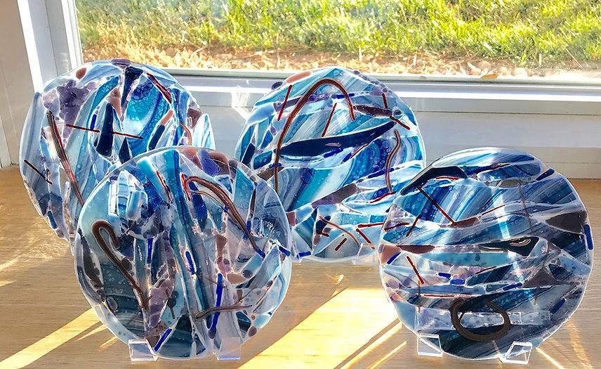Blue Plates match Blue Platter.jpg
