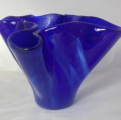 Blue Vase, medium