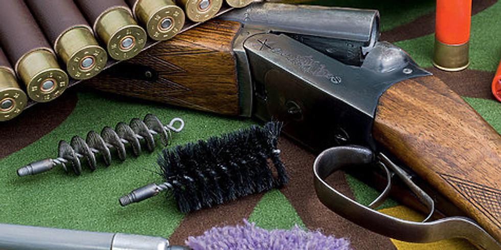 Семинар по чистке и обслуживанию оружия