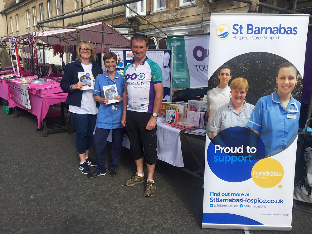 Joining St Barnabas on Stamford Market