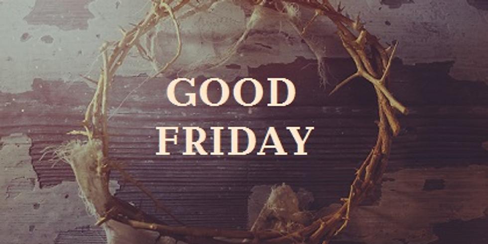 Parking Lot Service - Good Friday Liturgy - 7:00 PM