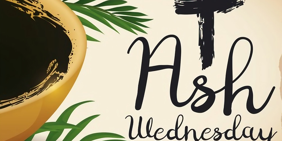 Ash Wednesday Outdoor Service of Holy Communion with the Imposition of Ashes - 12:10 p.m.