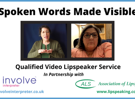 Lipspeaking support from your sofa!