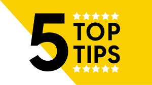 My top 5 tinnitus-taming tips