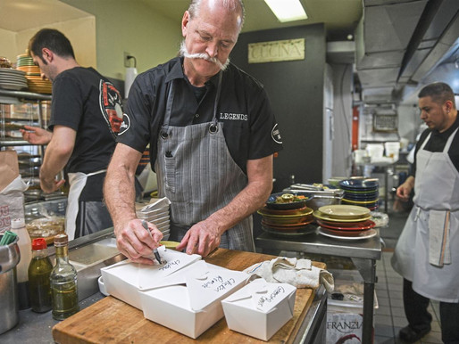 Delivery, some restaurateurs say, 'it's a parasitic relationship.'
