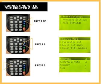 Printer Guide, WIFI 1