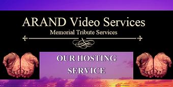 Online funeral hosting services
