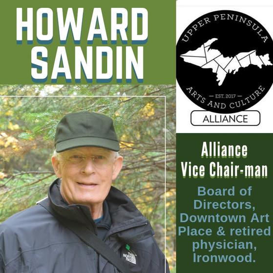 Alliance Council Member Spotlight, Howard Sandin