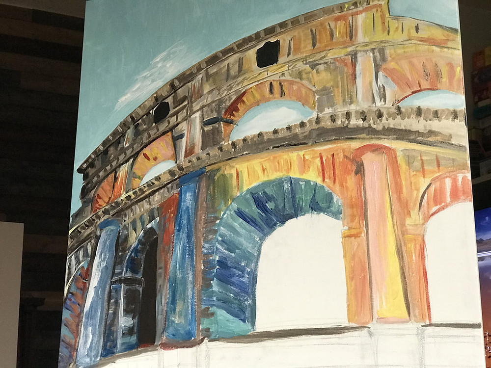A visit to the Colosseum