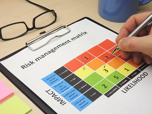 Identifying critical risk in a risk management matrix with the purpose of changing them.jpg