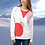 Thumbnail: Candy Cane Geometric Unisex Sweater