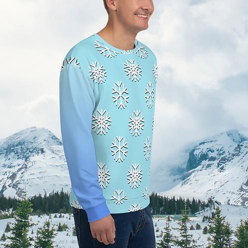 Snowflakes Unisex Sweater