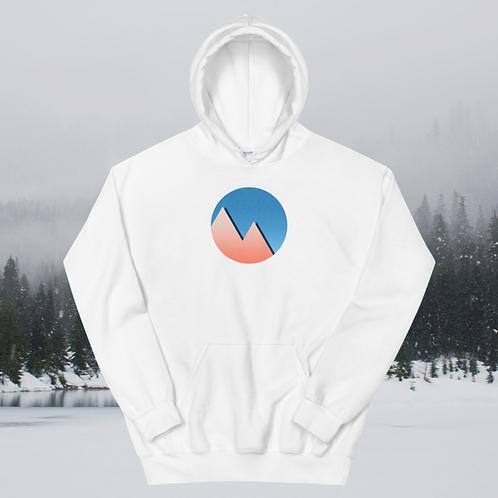 Warm Winter Mountains Unisex Hoodie