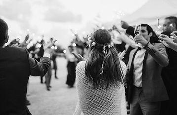 frame grab of wedding video footage