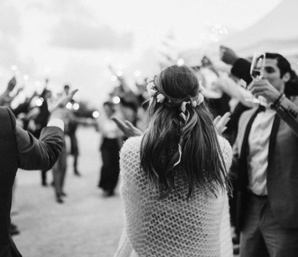 Cheering the Bride
