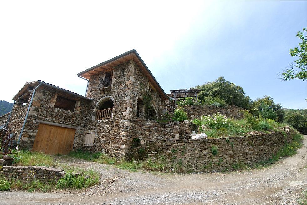 La Guaribote, grand gîte en Cévennes d'Ardèche, l'Elze 07110 Beaumont FRANCE.