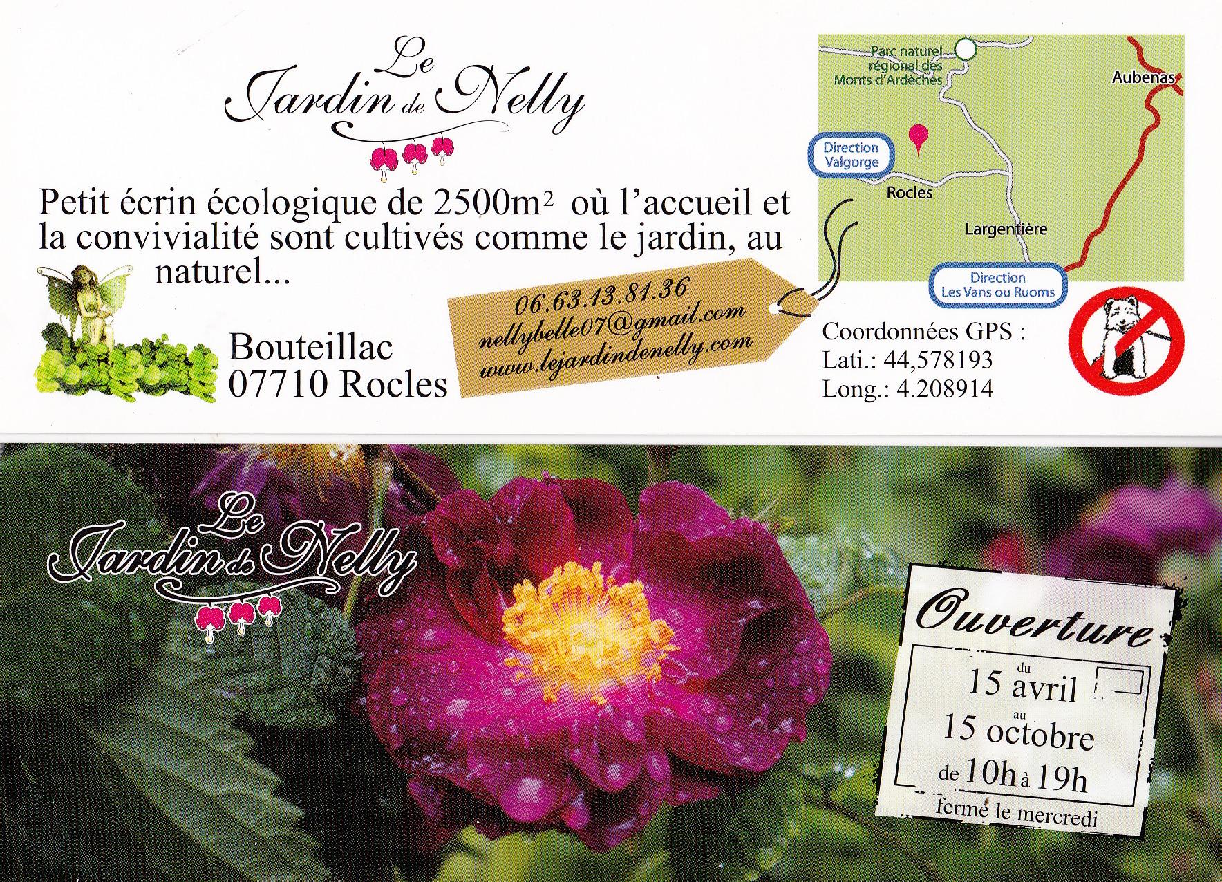 Jardin remarquable d'Ardèche.