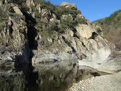 La rivière La Beaume