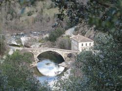 Vallée de la Beaume en Ardèche