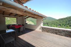 La Guaribote, la grande terrasse