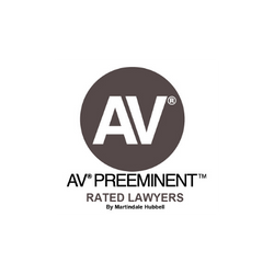AV Preeminent Rated Lawyer